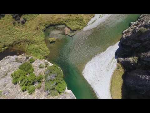 Oreti River drift dive