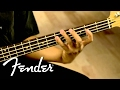 Squier Vintage Modified Precision Bass® PJ Demo   Fender