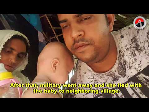 AT interview the orphaned children whose parents were killed by Myanmar armed forces