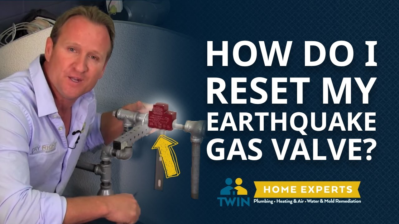 how do i reset my earthquake gas valve youtube rh youtube com