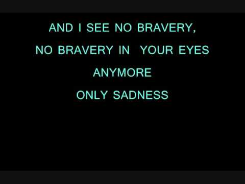 James Blunt - No Bravery + LYRICS