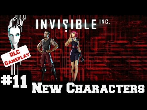 Invisible Inc - Contingency Plan New Characters - Gameplay/Walkthrough - Part 11