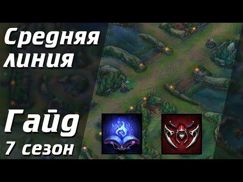 видео: Все аспекты игры на Средней линии | Лига Легенд [7 сезон]