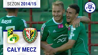 GKS Bełchatów - Śląsk Wrocław [1. połowa] sezon 201415 kolejka 04