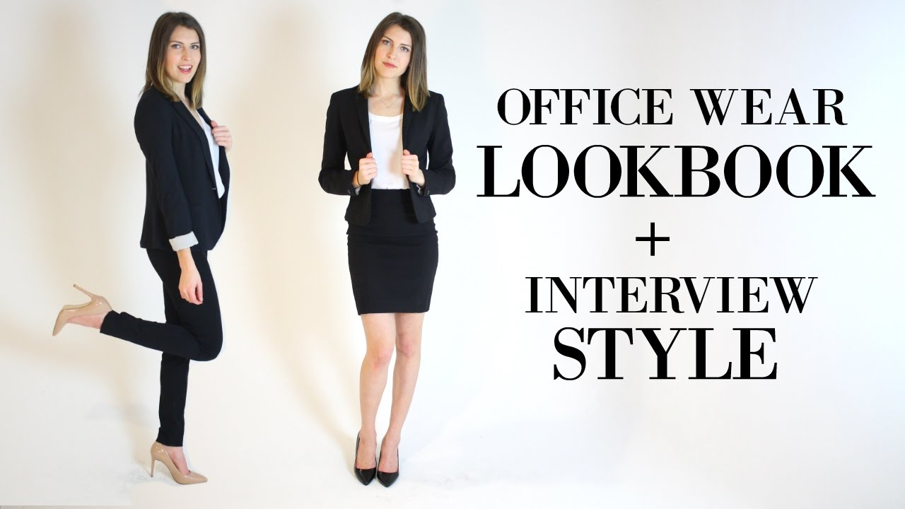 What To Wear For An Interview Work Clothes For Women Youtube