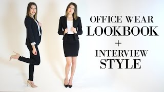 What to Wear for an Interview || Work Clothes for Women