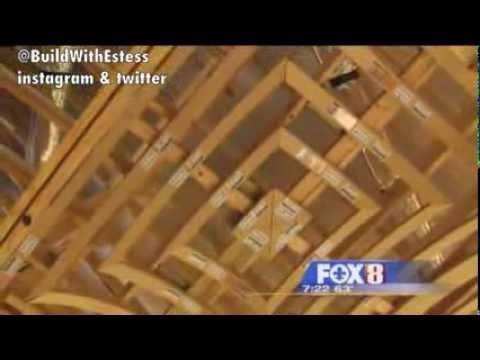 DIY Groin Vault Creative Ceiling Treatment Idea