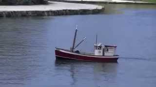 Maria K RC fishing trawler at Centenial Park, Santa Ana, California