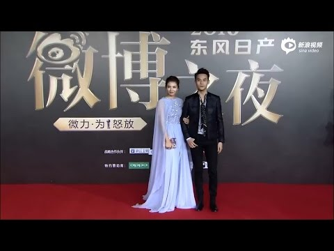 2017.01.16 2016微博之夜紅毯 王凱 劉濤