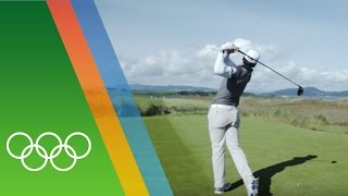Training for Rio with golfer Rafael Cabrera-Bello [ESP]