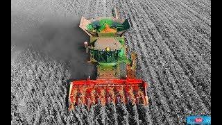 zbiór kukurydzy John Deere S680i na gąsienicach