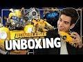 UNBOXING: Juguetes de Transformers - Bumblebee | Caja de Peliculas