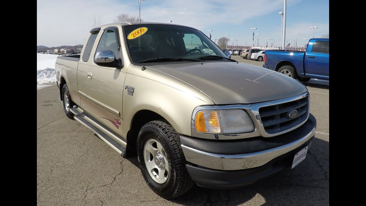2000 ford f 150 xlt supercab styleside 4x2p9981a youtube
