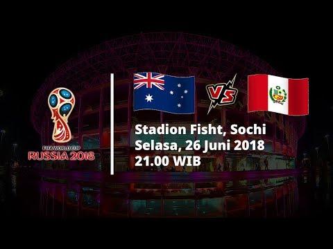 Prediksi Formasi Dan Pemain Australia Vs Peru Pukul 21.00 WIB