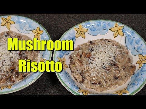 How to Make Mushroom Risotto (Risotto ai funghi)