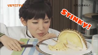 Download lagu Nanjolno Eats Durian for The First Time MP3