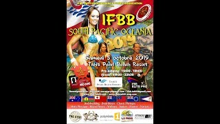 Teaser IFBB South Pacific 2019