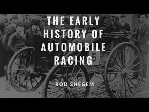 The Early History of Automobile Racing