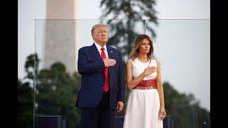 美国总统特朗普发表2020年独立日讲话及独立日庆祝活动(同声传译)