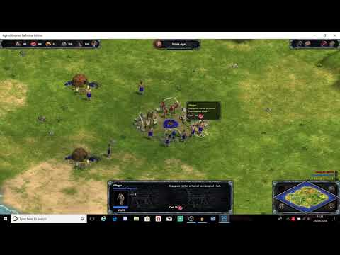 Age of Empires Definitive Edition: A.I. Only tournament  BUGGED END