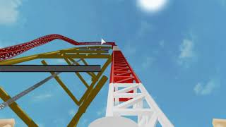 Testing Top Thrill Dragster POV - ROBLOX