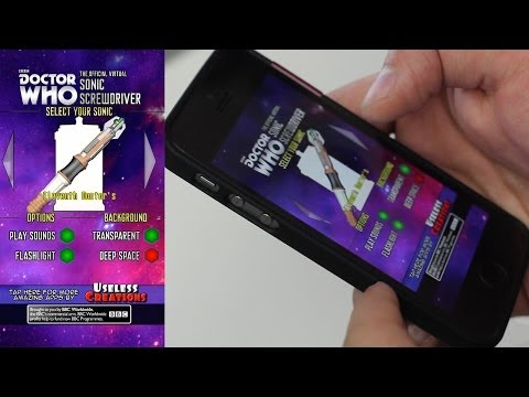 AppQuest - Doctor Who Sonic Screwdriver (Official App) App Review for iOS (iPhone, iPod Touch)