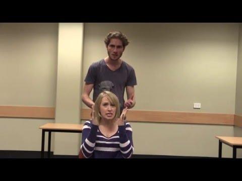 Gustavo & Callie (the hairdresser)