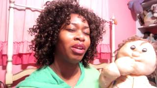 My Bootleg Cabbage Patch Doll ... GloZell