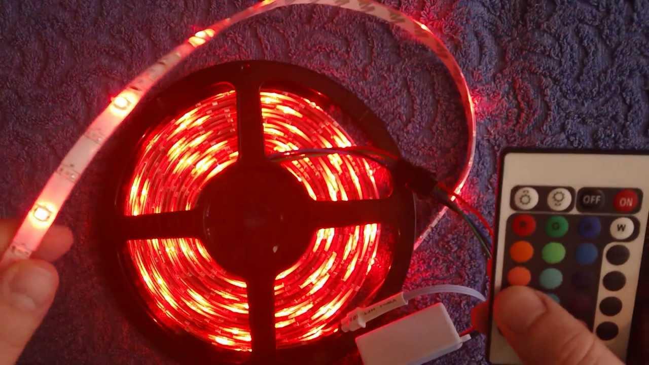 Jak podłączyć taśmę LED RGB