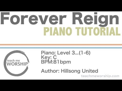 6.9 MB) Forever Reign Piano Chords - Free Download MP3