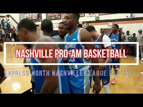 Express Employment Professionals Sponsors 2017 Summer Nashville Pro-Am Basketball League