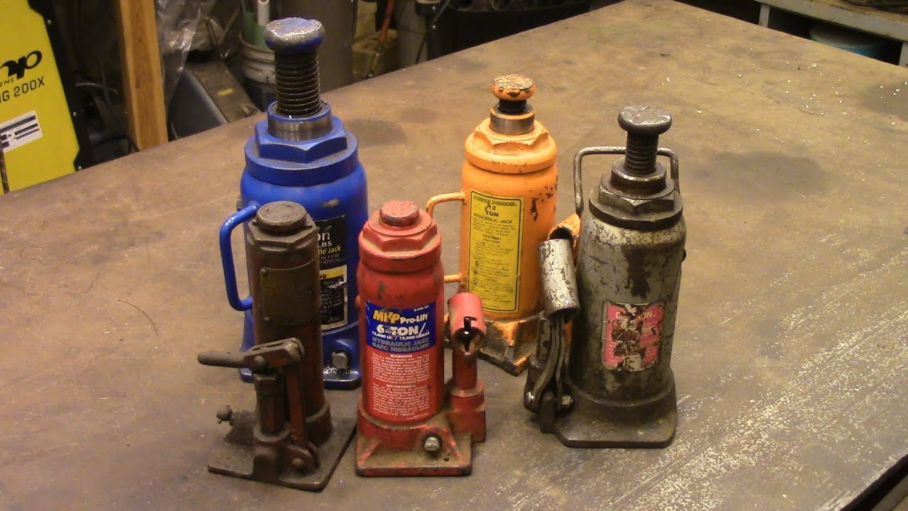 How To Repair A Hydraulic Jack Youtube