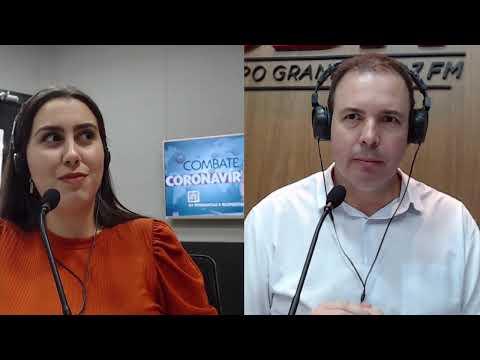 CBN Campo Grande (23/03/2020) - com Ginez Cesar