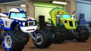 Blaze et les Monster Machines | Les soucis de moteur | NICKELODEON JUNIOR