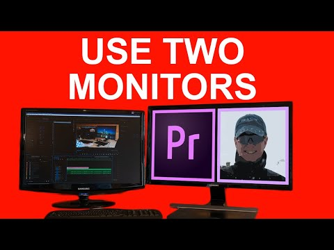 How To Use Two Monitors In Premiere Pro