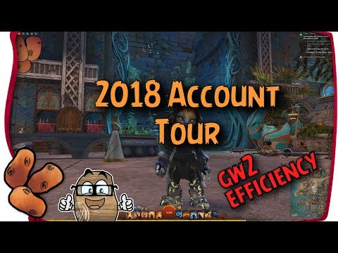 Guild Wars 2 - 2018 Account Tour!   What I Earned in 13,000 Hours & Path of Fire Progress thumbnail