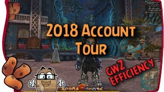 Guild Wars 2 - 2018 Account Tour! | What I Earned in 13,000 Hours & Path of Fire Progress