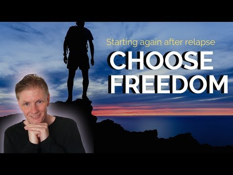 Choose Freedom : Starting Again When Quitting Smoking
