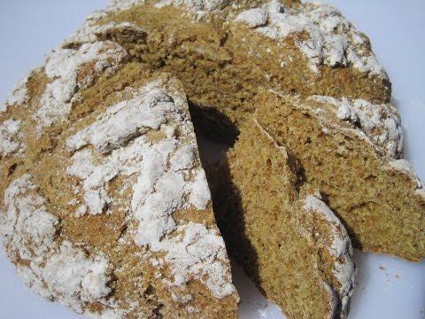 IRISH BROWN BREAD - How to make IRISH SODA BREAD Recipe