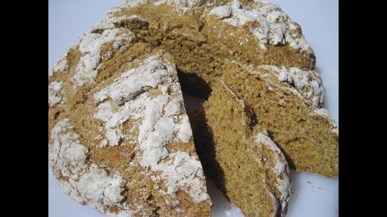 Irish Brown Bread How To Make Irish Soda Bread Recipe Youtube