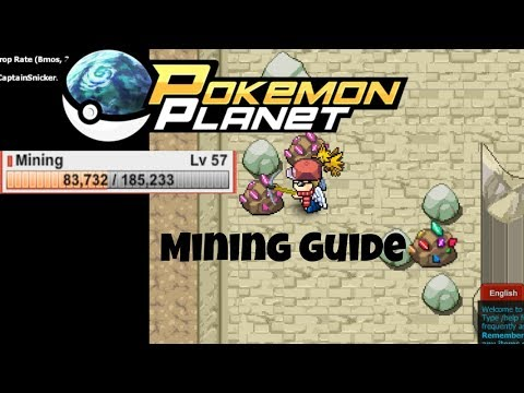 Pokemon Planet - Mining Guide & Best Mining Locations