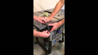 Delta 36-725 Table Saw Quick Assembly