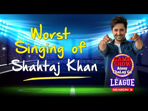 Download Shahtaj Khan Worst Singing In Game Show Aisay Chalay Ga League Season 3 | Danish Taimoor Show