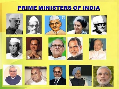Prime Ministers of India - Useful for RRB, SSC, Postal, Groups, Civils and other Competitive exams