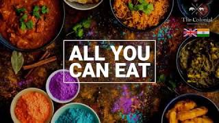 All You Can Eat Indian Buffet Sydney, The Colonial Restaurant. Best Indian Food