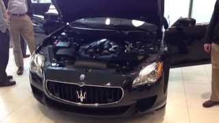 What does a 2014 Maserati Quattroporte sound like?