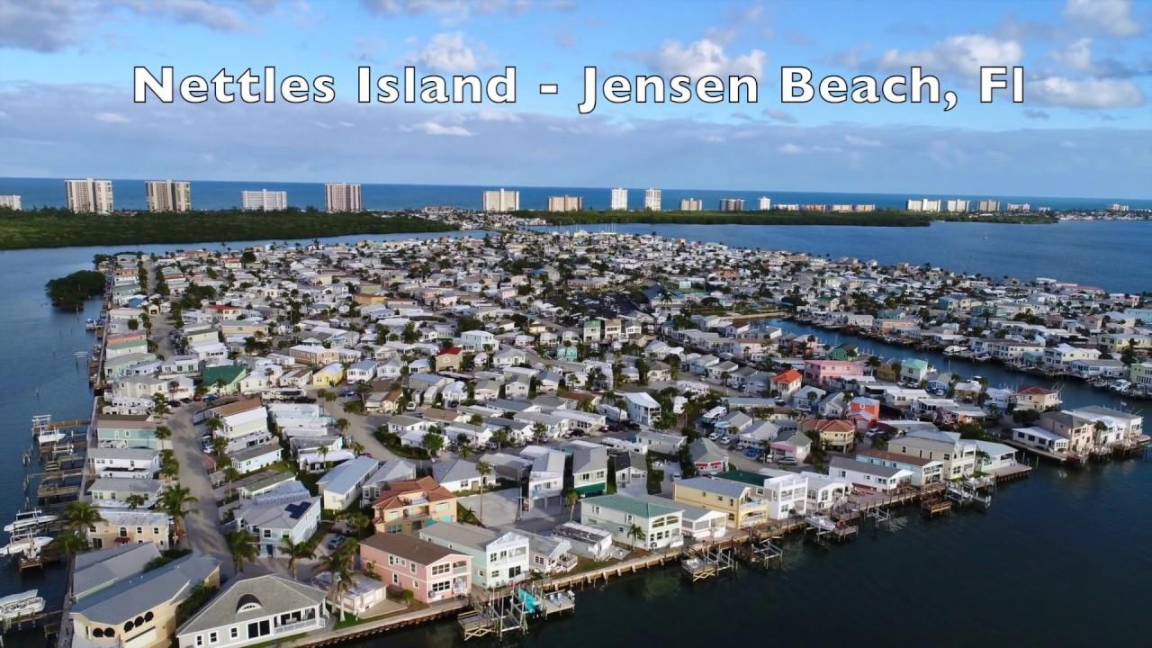 Nettles Island Florida Map.Nettles Island Resort Hutchinson Island Fl Phantom 4 Pro Youtube