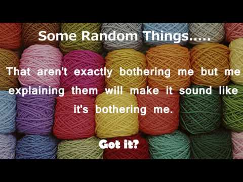 Eskie's Vlog 112516: Some Random Things.....