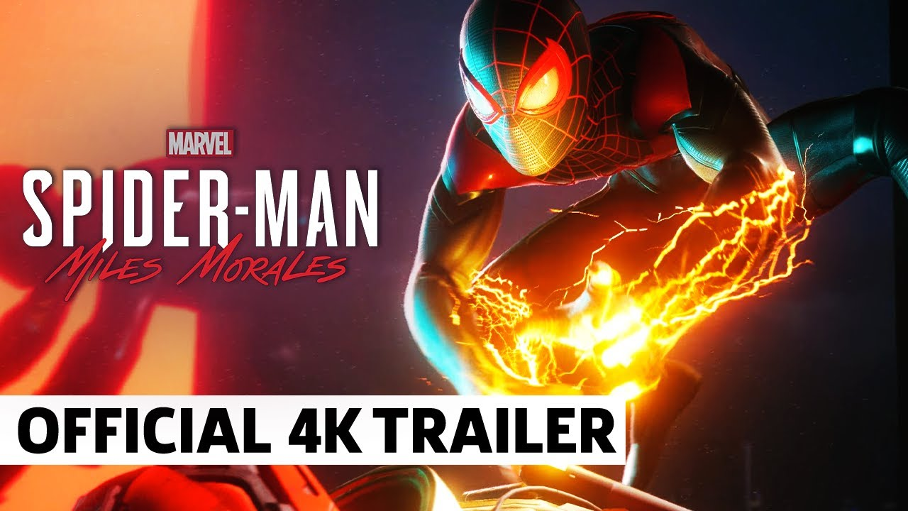 Marvel's Spider Man: Miles Morales - Official 4K World Premiere Announcement Trailer