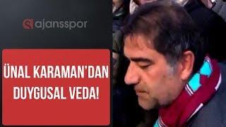 FLAŞ- Trabzonspor'dan gönderilen Ünal Karaman, taraftarla buluştu ve açıklamalarda bulundu